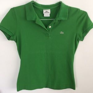 Lacoste short sleeve polo size 38 (small)